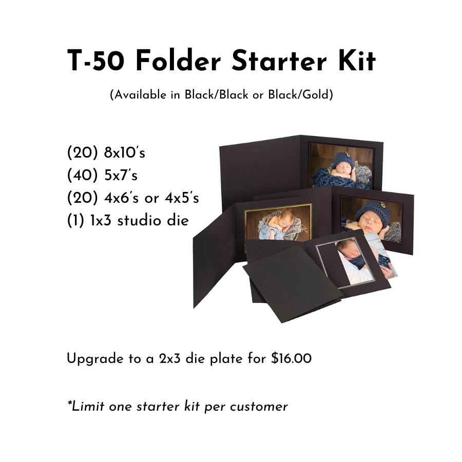 T50 Folder Starter Kit