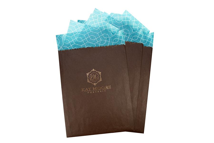 Chocolate Flat Bag