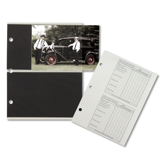 Tyndell Nova Album Inserts and Order Forms