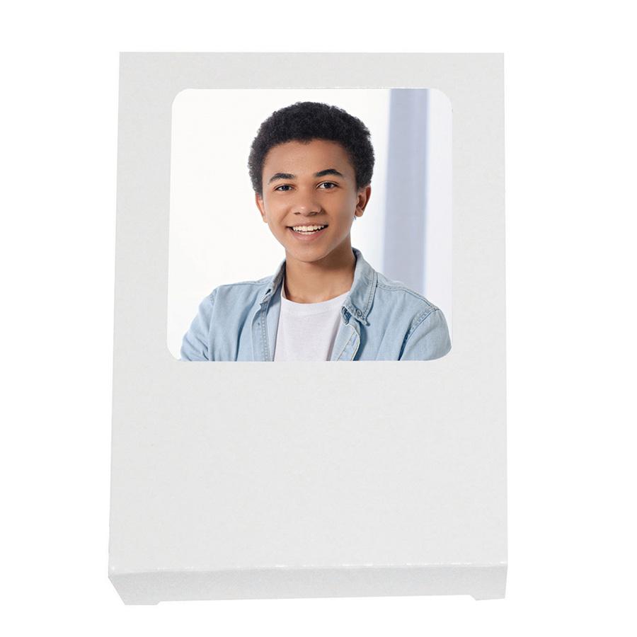 White Wallet Box