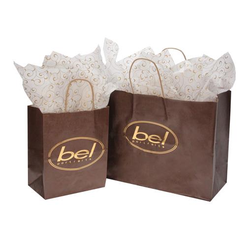 Tyndell Flat Bag - Chocolate