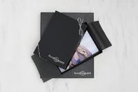 "1"" Portrait Box - Black Leather Thumbnail"