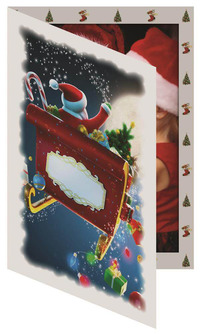 Santa Sleigh Folder