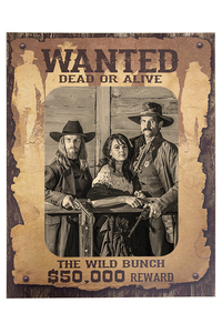 wanted poster the wild bunch