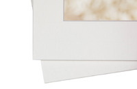 beveled edge portfolio mat