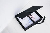 mats with black portfolio box