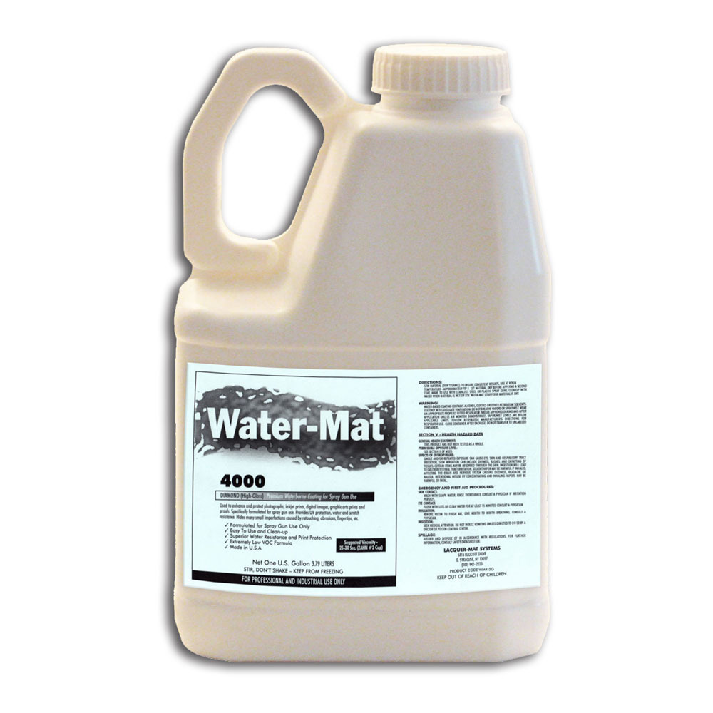 Water-Mat 4000 Diamond Gallons Thumbnail