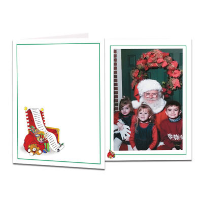 Santa Chair Folder - Clearance Thumbnail