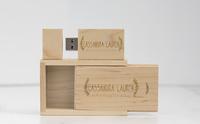 Wood USB box