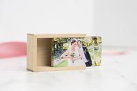 Wood USB Slide Box - Maple Thumbnail
