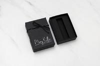 Matte Black Wallet Box