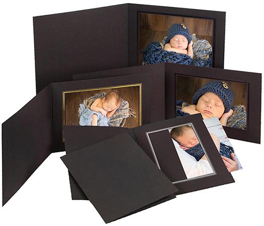 Portrait Folders and Mounts